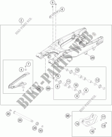 SWINGARM for HVA TC 125 2014
