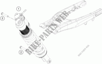 SHOCK ABSORBER for HVA FE 450 2013