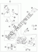 THROTTLE BODY for HVA FE 450 2013