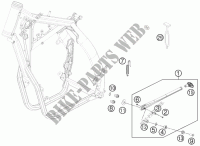 SIDE / MAIN STAND for Husqvarna TE 250 2011
