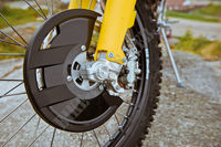 Brake disc guard-Husqvarna
