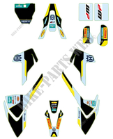 Factory graphics kit -Husqvarna
